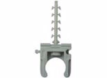 Picture of Клипса для крепления труб 16 мм  с шурупом
