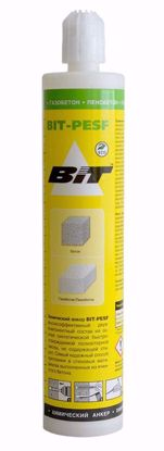 Изображение Химический анкер BIT-PESF 300мл (бетон газобетон пенобетон)