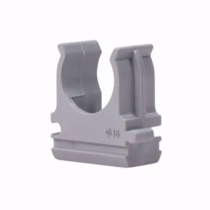 Picture of Клипса для крепления труб  20 мм (серая) (250)