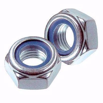 Picture of Гайка самоконтрящаяся  М6 DIN 985 А2-70 нержавеющая сталь (100)
