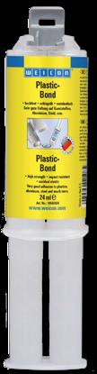 Изображение WEICON Plastic-Bond (24 мл) Духкомп констр клей